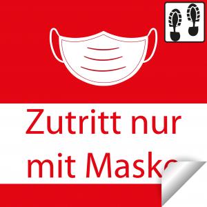 Nur mit Maske+Trittschutzlaminat / 30x30cm