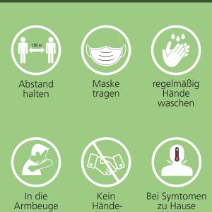 Poster – Motiv Hygiene Weiß