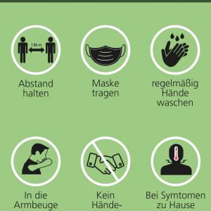 Poster – Motiv Hygiene Schwarz