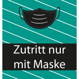 Poster – Motiv Maske