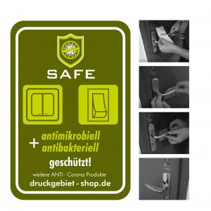 Schalterschutz – 1 Set (4 Schalteraufkleber)