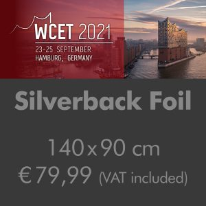 Poster on Silverback Foil 140x90cm