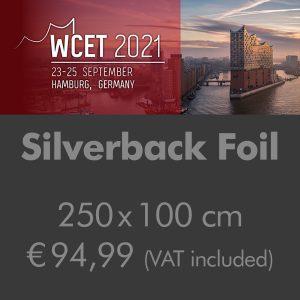Poster on Silverback Foil 250x100cm