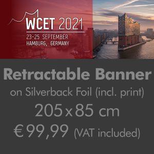 Retractable Banner 205x85cm